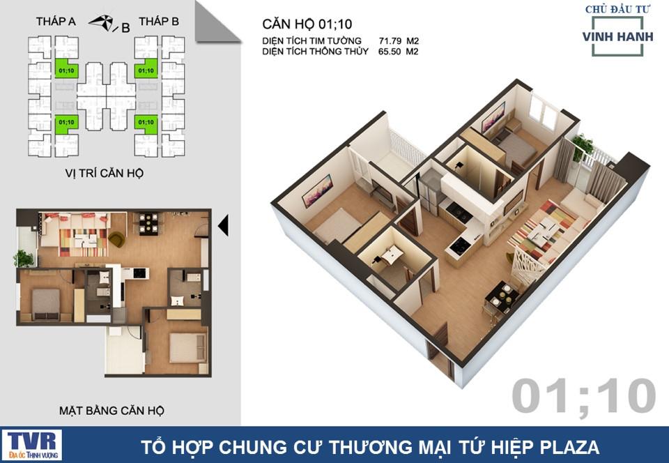 CH5 chung cư tứ hiệp Plaza
